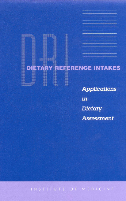 Download Dietary Reference Intakes free pdf