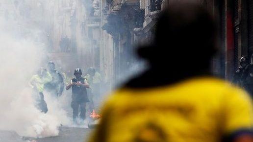 México insta a respetar los derechos en protestas de Ecuador