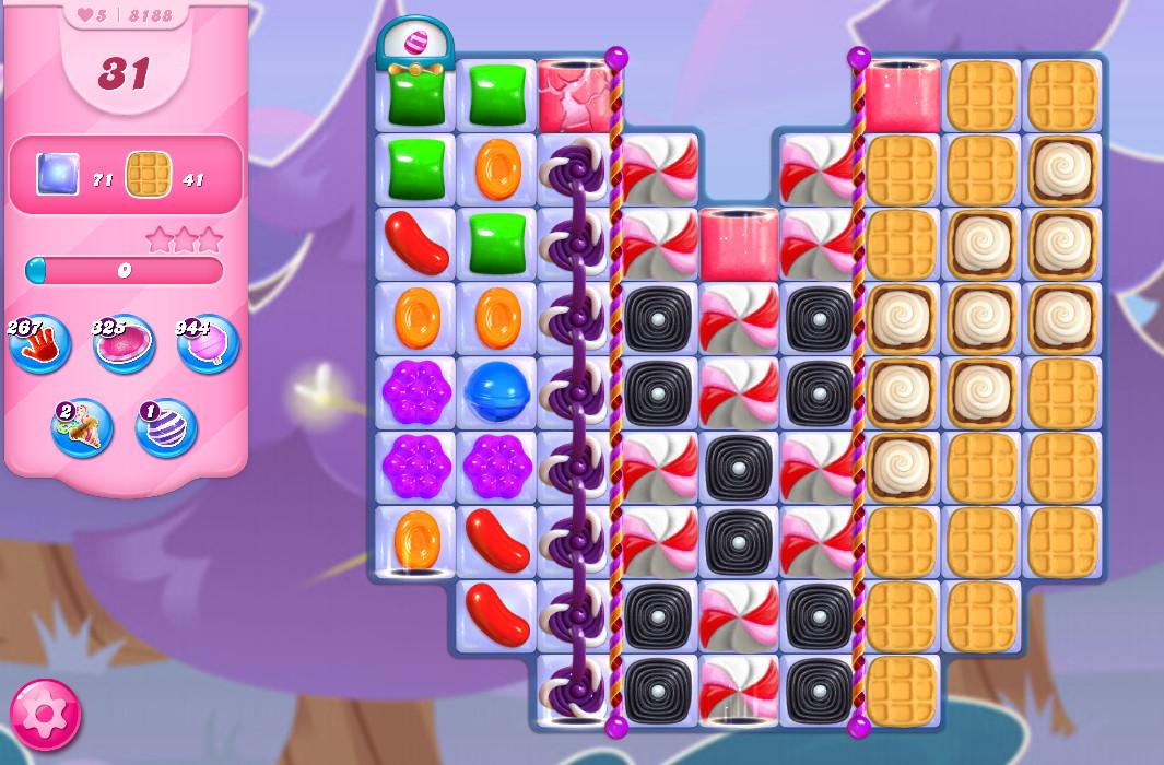Candy Crush Saga level 8188