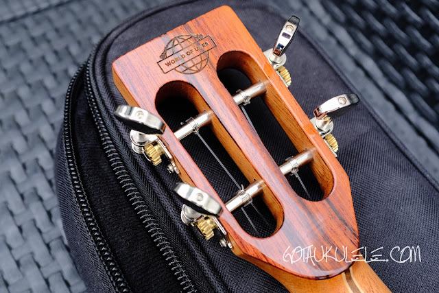 Uluru Sedera III tenor ukulele tuners