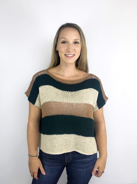 EASY BREEZY TOP - PDF PATTERN