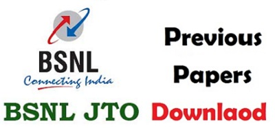 BSNL JTO Previous Year Question Papers