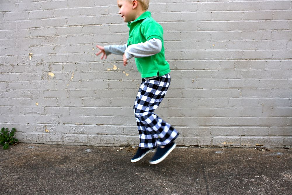 Easy Access Clothing Childrens Soft Interlock Pants //Inside Seam Opening with Snaps