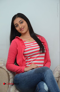 Telugu Actress Mouryani Latest Pos in Blue Denim Jeans  0177.JPG