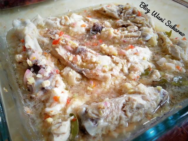ayam kukus thai pedas