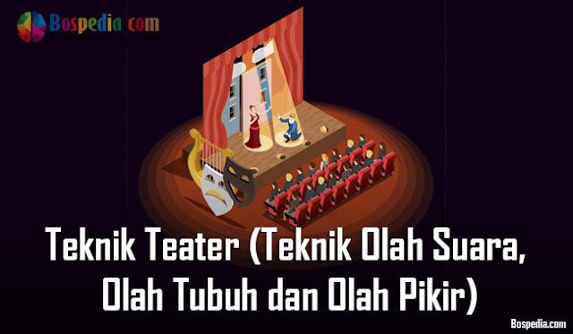 Metode Teknik Teater dalam Teknik Olah Suara, Olah Tubuh dan Olah Pikir