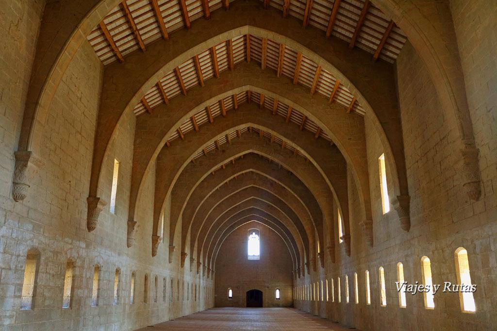 Dormitorio del Monasterio de Santa María de Poblet, Tarragona