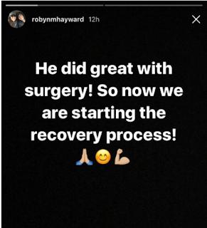 Cirurgia bem sucedida