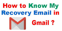 How to Know My Gmail Recovery Email Address?