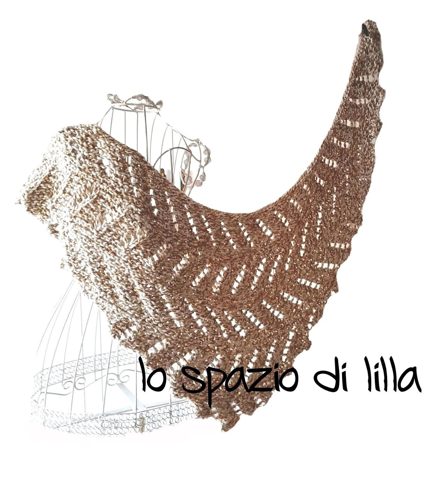 lilla s tutorials  lo scialle ai ferri ZigZag   ZigZag knitted shawl dc8a590cae39