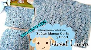 Ropa de Bebé Tejida a Crochet 🙂 Patrones