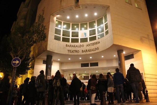 Fachada del Teatro Barakaldo