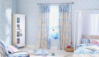 kamar tidur anak warna biru muda