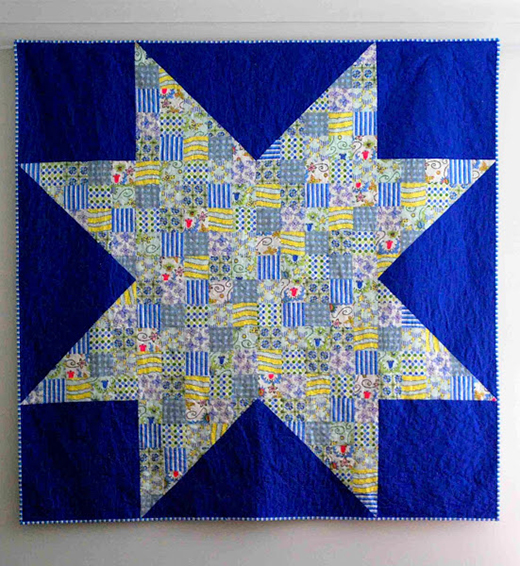 Made in CherryQuilt, Free Pattern by Sarah Fielke for Lecien