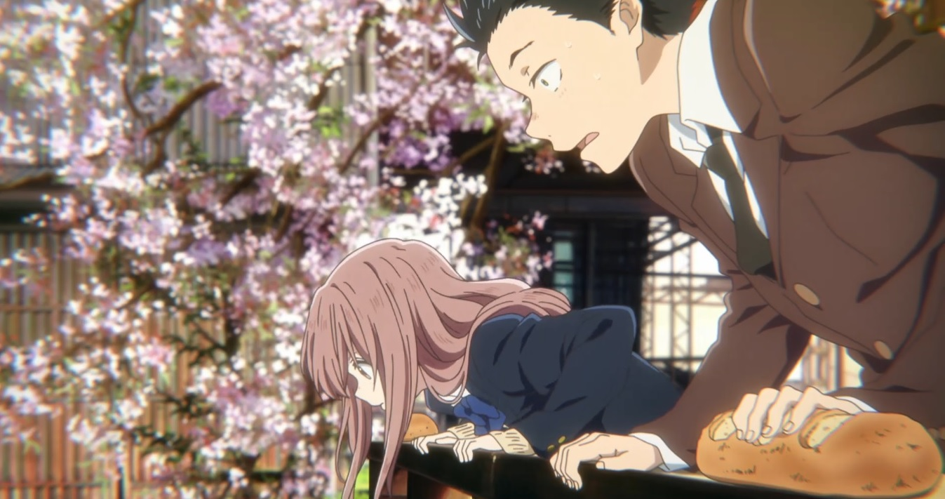 Ishida Shouya and Nishimiya Shouko of A Silent Voice (Koe no Katachi)