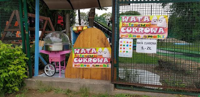 Wata cukrowa park rozrywki kraków