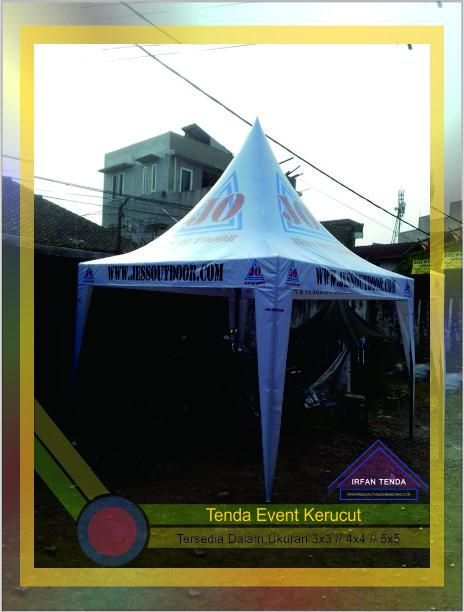 Penjual Tenda Kerucut Standar Event