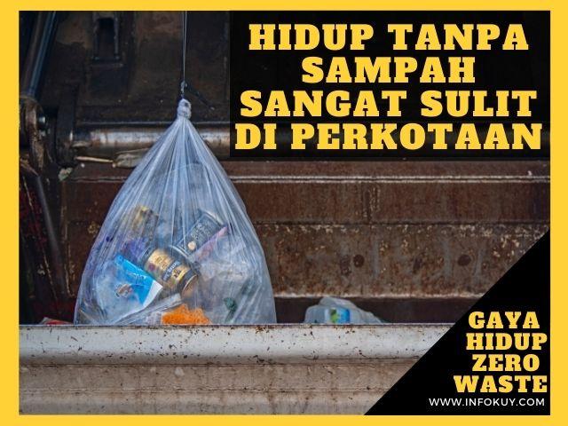gaya hidup bebas sampah, gaya hidup zero waste