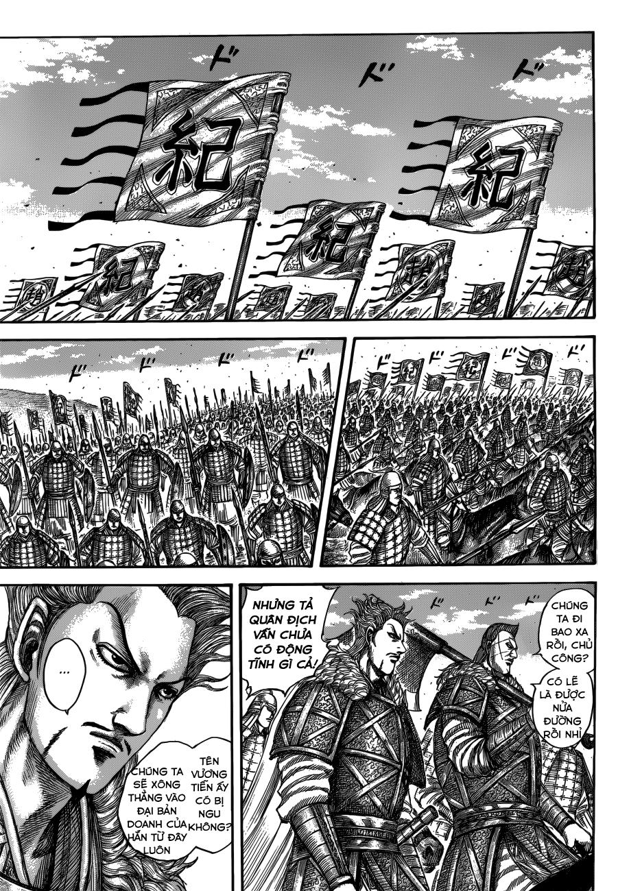 Kingdom chapter 520: khai chiến trang 11