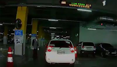 Η απόπειρα για παρκάρισμα μιας κυρίας από τη Νότια Κορέα (Video)