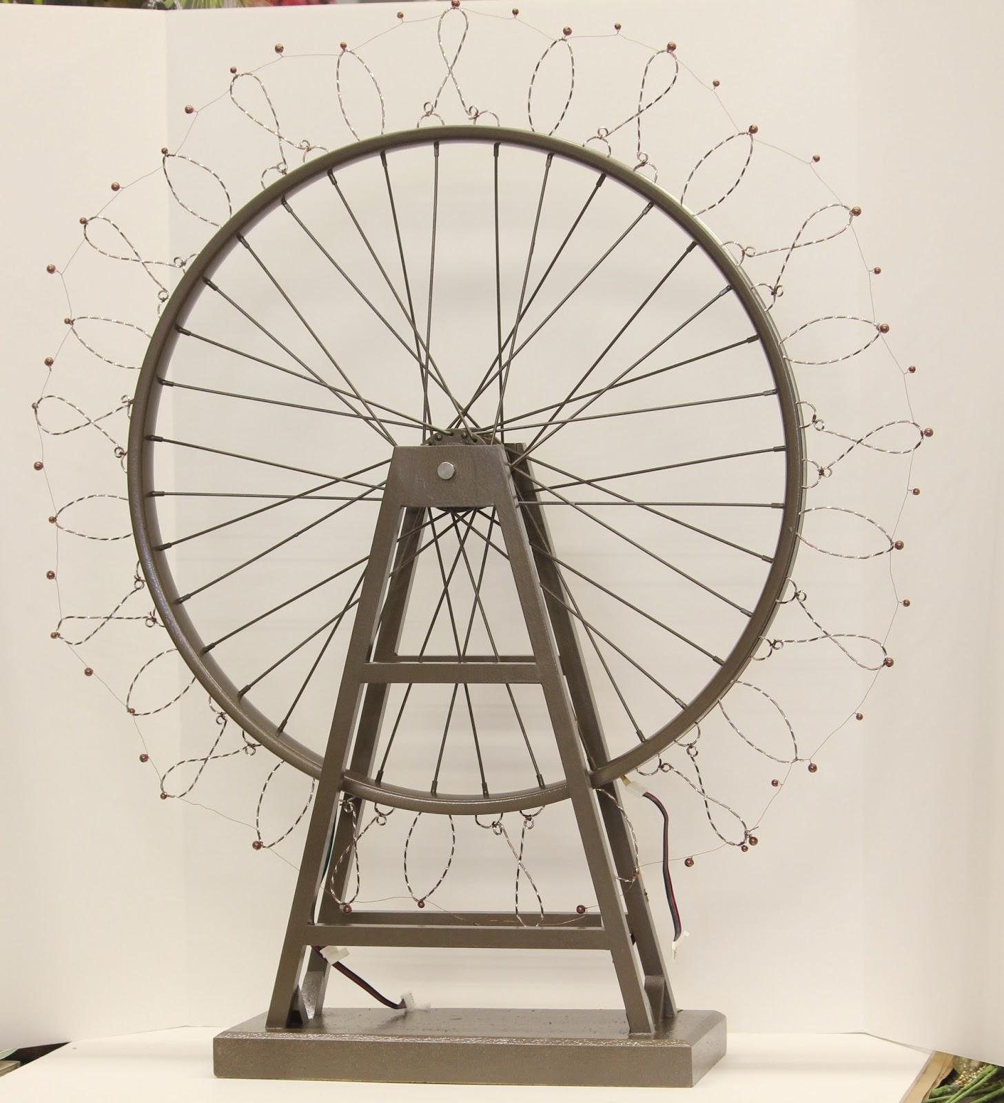 Ferris Wheel Centerpiece Flowers
