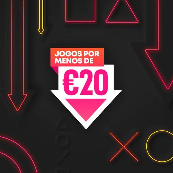 """Campanha """"Jogos por menos de 20€"""" arrancou ontem na PlayStation®Store"""