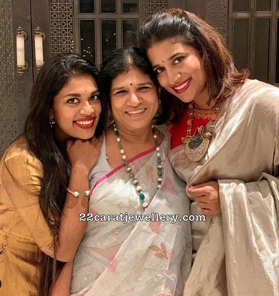 Chiranjeevi Daughters Jewellery