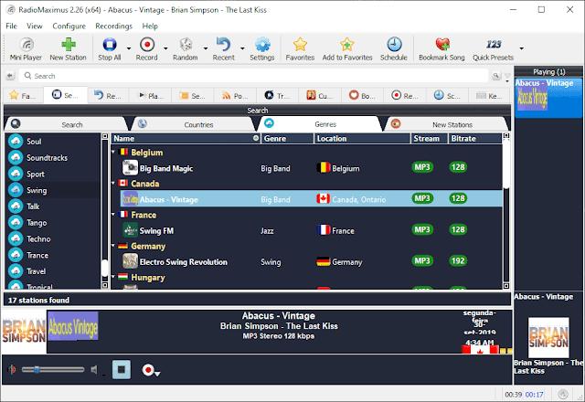 Screenshot RadioMaximus 2.26 Full Version