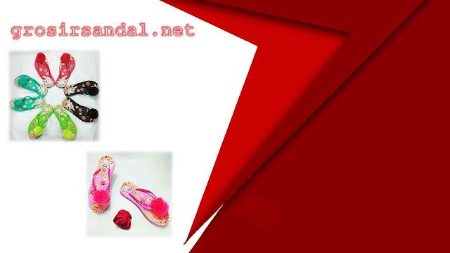 sandal wanita dewasa | sandal motif | size 36-40