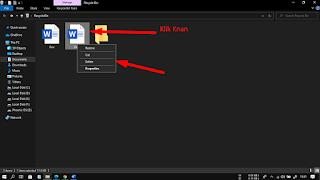 Cara Menghapus File Di Laptop