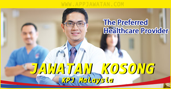 Jawatan Kosong di KPJ Specialist Hospital