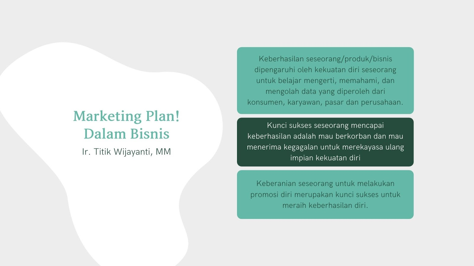 Review Buku: Marketing Plan! Dalam Bisnis.