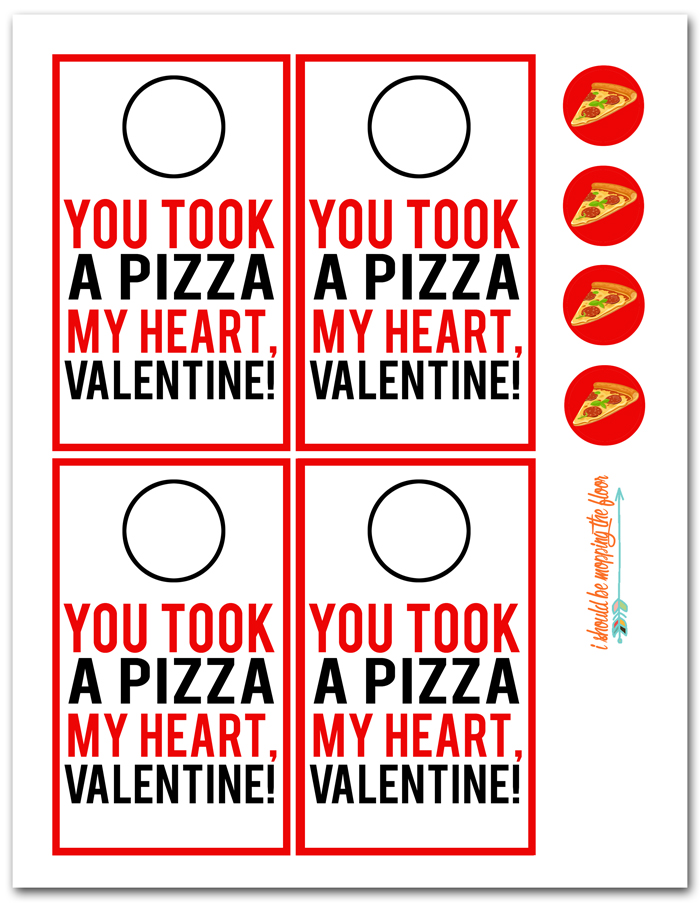 Pizza Valentines