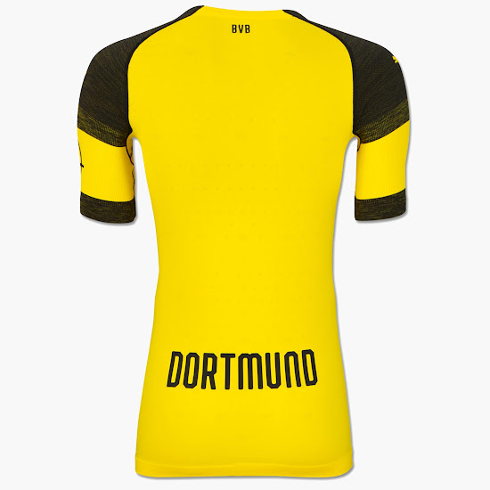 12d27ba8b19 Borussia Dortmund 18-19 Home Kit Released - Footy Headlines