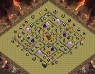 Formasi Base War TH 10 Terbaru