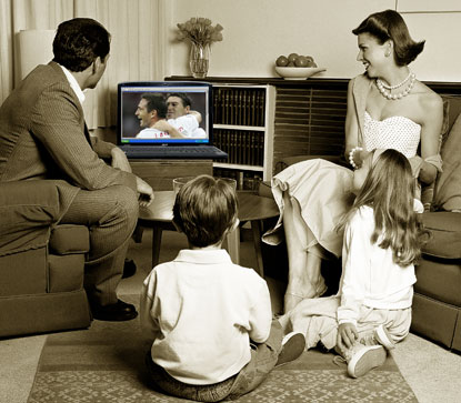 Essay/Term paper: Televisons positive affects on society