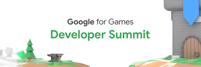 Google for Games Dev Summit header