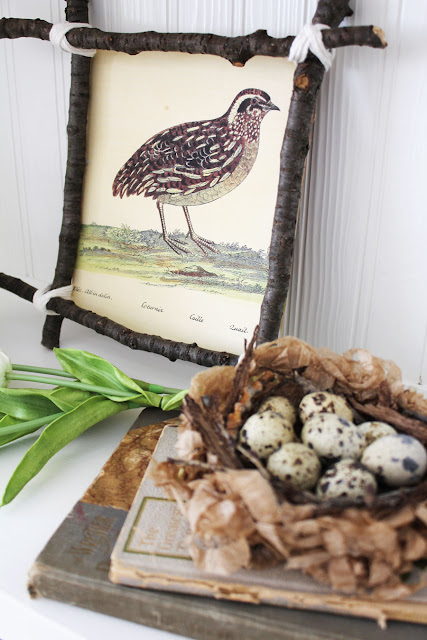 Simple Nature Inspired Spring Decor Projects From Itsy Bits And Pieces Blog
