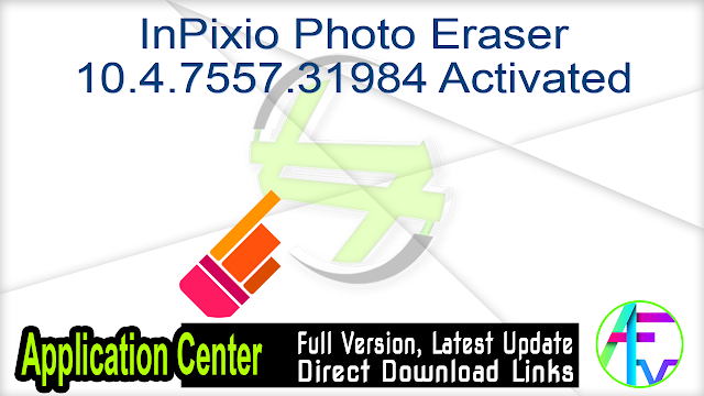 InPixio Photo Eraser 10.4.7557.31984 Activated