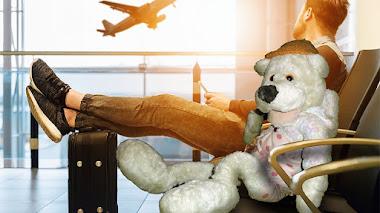 Pepo en el Aeropuerto de Oviedo