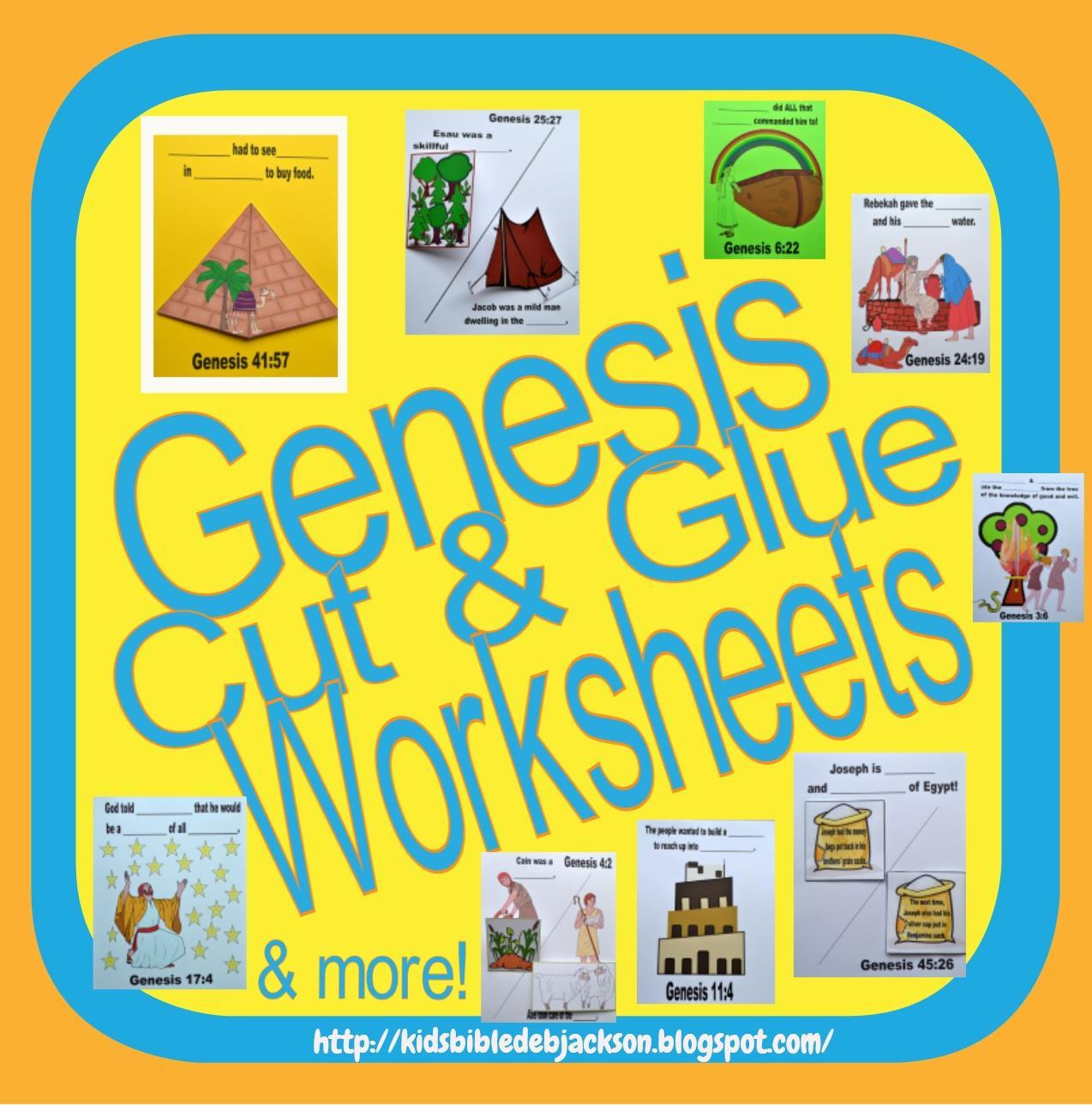http://kidsbibledebjackson.blogspot.com/2013/05/genesis-lapbook-cut-glue-student.html