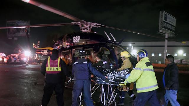 Asciende a 73 el número de fallecidos en la explosión de un ducto en México