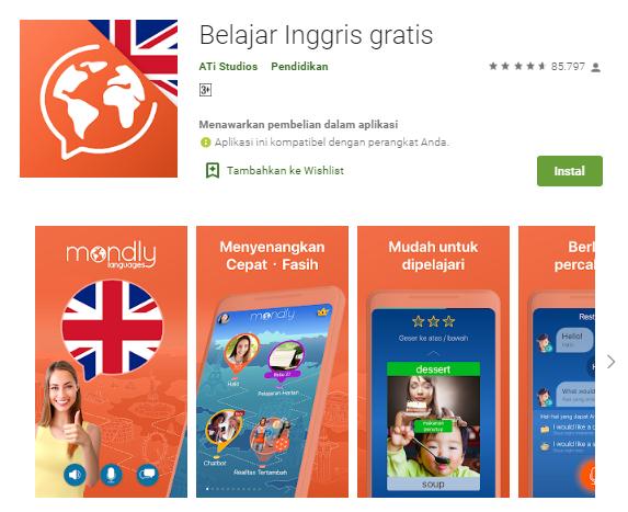 Aplikasi Belajar Bahasa Inggris Terbaik di Android ...
