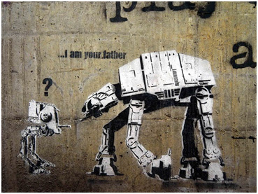 Stencil Graffiti Art