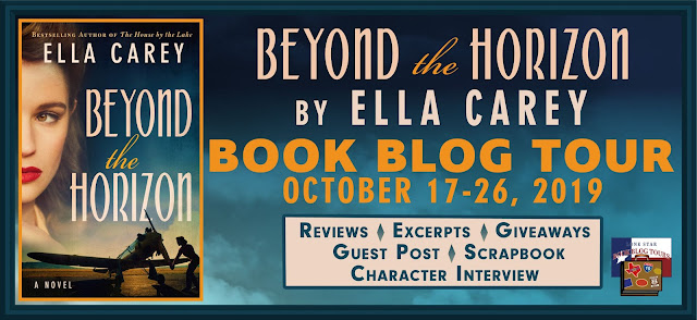 Beyond the Horizon book blog tour promotion banner