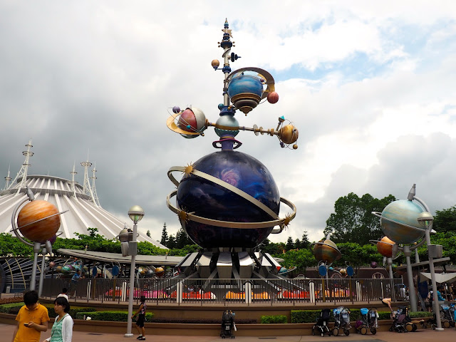 Orbitron ride in Tomorrowland | Disneyland Hong Kong