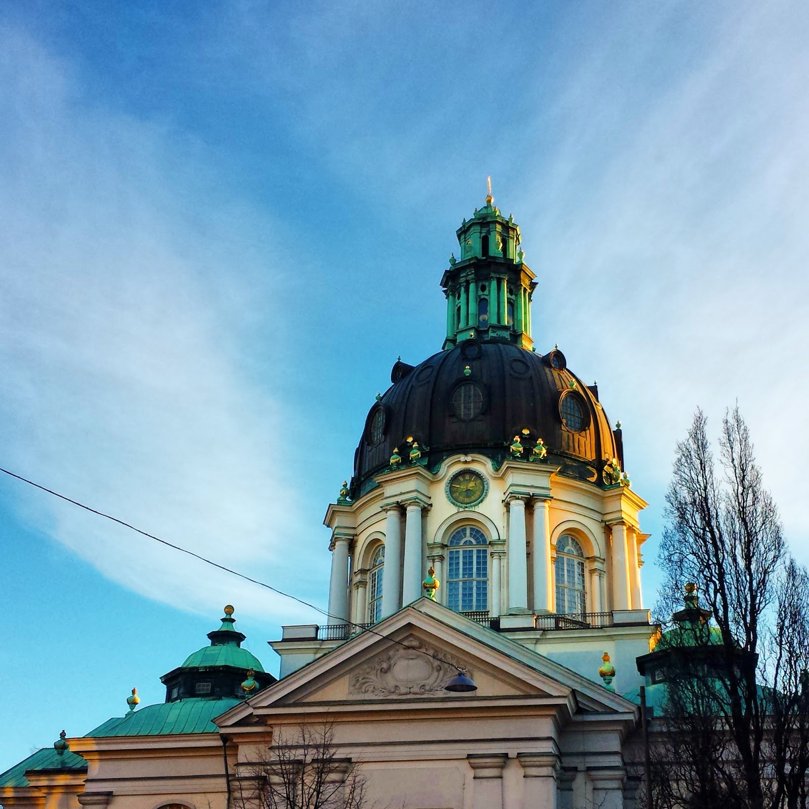 Gustav Vasa Kyrka, Stockholm, Sweden  |  Galvanizing spirits and getting things done on afeathery*nest  |  afeatherynest.com