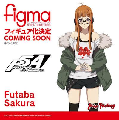 Figma Futaba Sakura de Persona 5