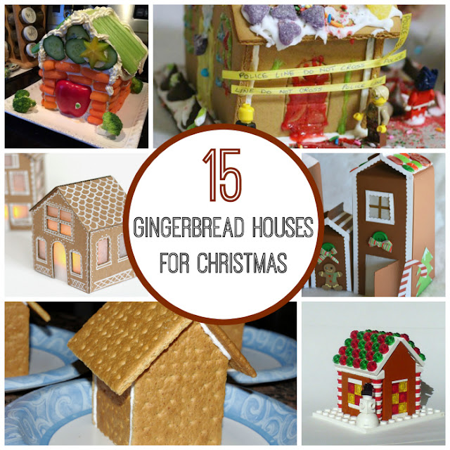 Gingerbread houses to make with kids
