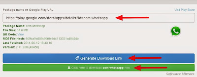 How to download APK file from Google Play?